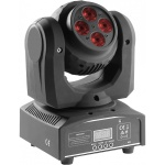 Stagg 4x10W RGBW DMX LED otočná hlavice Double