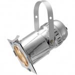 Eurolite LED PAR-30 COB reflektor RGB 30W stříbrný