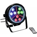 Eurolite LED SLS-10 Hybrid reflektor 9x10W HCL 36x0,5W bílá 18x 0,2 RGB