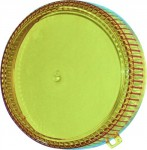 Techno strobe filtr žlutý
