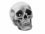Halloween lebka 21x15x15 s LED