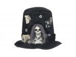 Halloween klobouk s lebkou