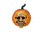 Halloween dýňová lebka, 26 cm