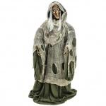 Halloween čarodějnice s bradavicí animovaná 175cm