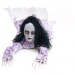 Halloween figurína plazící se dívky 150cm