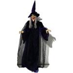 Halloweenská postava čarodějnice