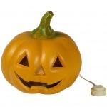 Halloween svítící dýně 12 cm