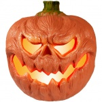 Halloween svítící dýně, 18 cm