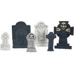 Halloween sada dekoračních náhrobků