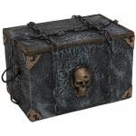 Halloween pirátská pohyblivá truhla 32 x 48 x 32cm