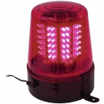 Eurolite LED policejní maják 108 LED červený