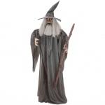 Europalms Halloween Figure Wizard animated 190cm