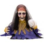 Europalms Halloween Figure Fortune Teller animated 50cm