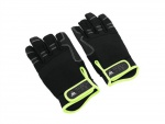 Hase rukavice se 3 otevřenými prsty velikost M