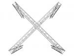 Alutruss Truss set TRILOCK 6082 X stand 6.71x6.71x3m (WxDxH)