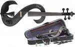 Stagg EVN 4/4 MBK, elektrické housle