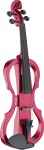 Stagg EVN X-4/4 MRD, elektrické housle, červená metalíza