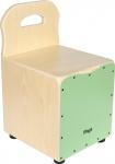 Stagg CAJ-KID GR, dětský cajon zelený se zádovou opěrkou
