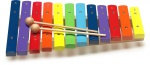 Stagg XYLO-J12 RB xylofon 12 barevných kamenů
