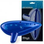 Stagg OCA-PL BL, okarína modrá