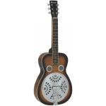 Dimavery RS-600 rezofonická kytara s hranatým krkem