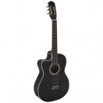 Dimavery CN-600L Classical guitar black