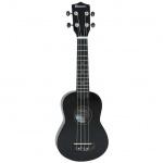 Dimavery UK-200 sopránové ukulele černé