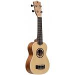 Stagg US-30 SPRUCE sopránové ukulele s pouzdrem