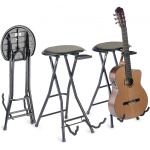 Stagg GIST-350 stolička skládací s kytarovým stojanem
