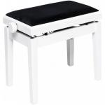 Stagg PBH 390 WHM VBK hydraulická klavírní stolička