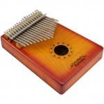 Dimavery KL-4 kalimba 17 C sunburst