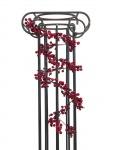 Girlanda z bobulí červená 180cm