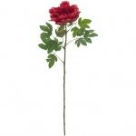 Europalms klasická Pivoňka větvička, umělá rostlina, purpurová, 80cm