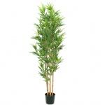 Europalms Bambus deluxe, umělá rostlina, 150cm