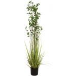 Zelený keř s trávou 182 cm