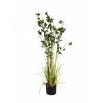 Zelený keř s trávou 120 cm