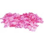 Okvětní lístky růže růžové 500 ks