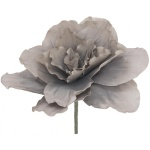 Obří květ béžovo-šedá 80 cm